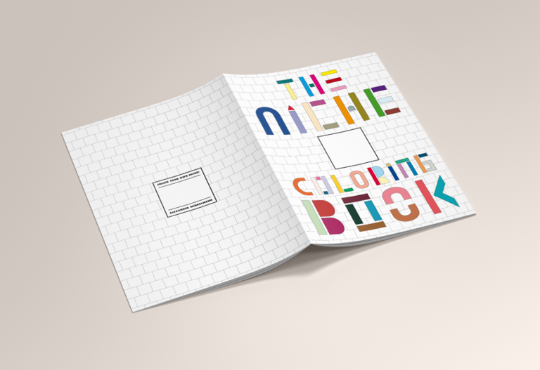 Alexander Winkelmann THE NICHE COLORING BOOK